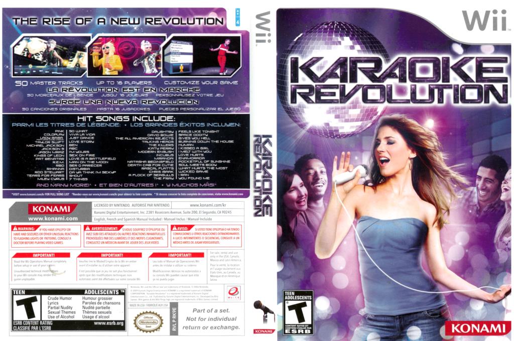 Karaoke Revolution Wii coverfullHQ (RK9EA4)