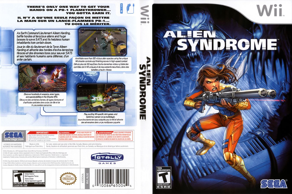Alien Syndrome Wii coverfullHQ (RLSE8P)