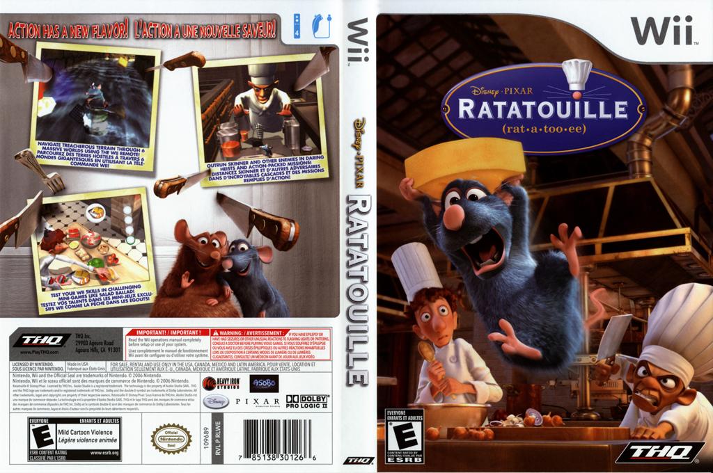Ratatouille Wii coverfullHQ (RLWE78)