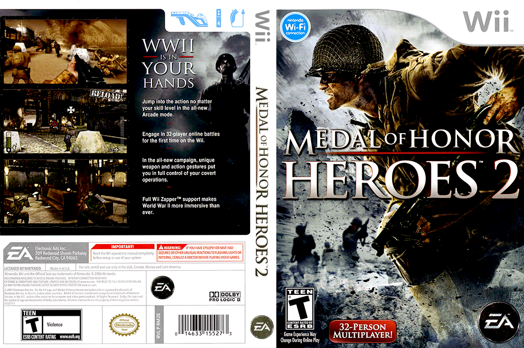 Medal of Honor: Heroes 2 Array coverfullHQ (RM2E69)