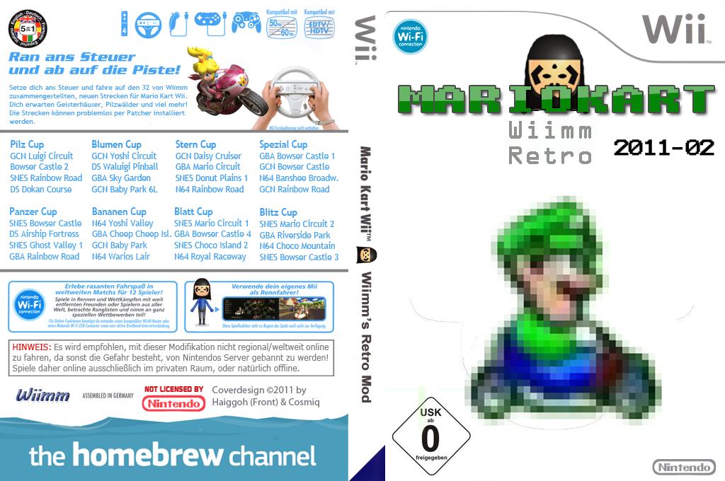 Wiimms MKW Retro 2011-02.ntsc Wii coverfullHQ (RMCE07)