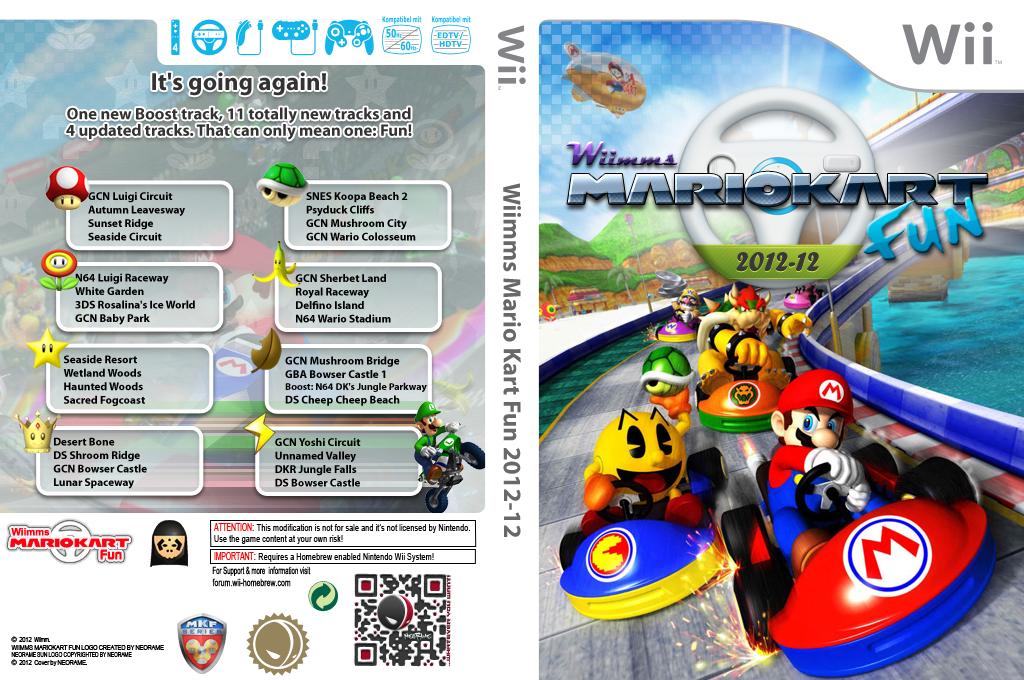 Wiimms MKW Fun 2012-12.ntsc Wii coverfullHQ (RMCE19)
