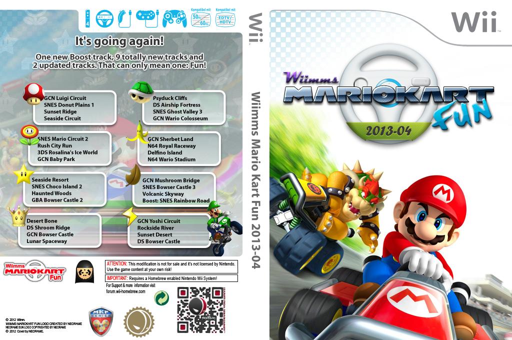 Wiimms MKW Fun 2013-04.ntsc Wii coverfullHQ (RMCE20)