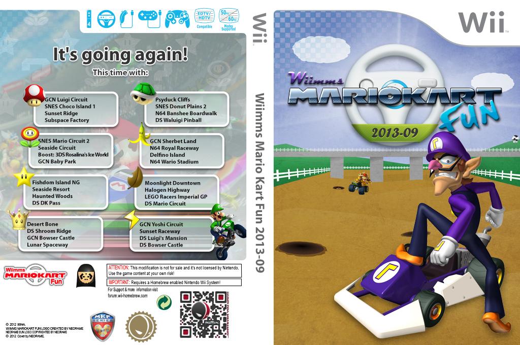 Wiimms MKW Fun 2013-09.ntsc Wii coverfullHQ (RMCE21)