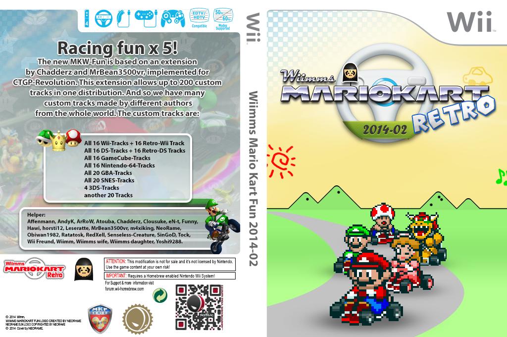 Wiimms MKW Retro 2014-02.ntsc Wii coverfullHQ (RMCE24)