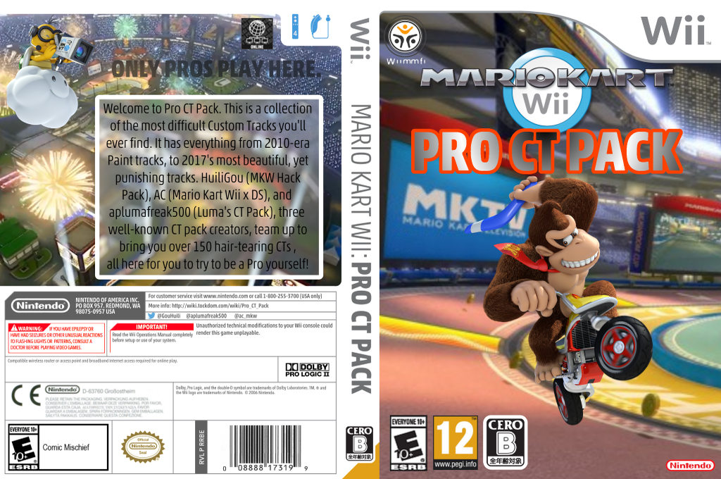 Pro CT Pack Wii coverfullHQ (RMCE76)