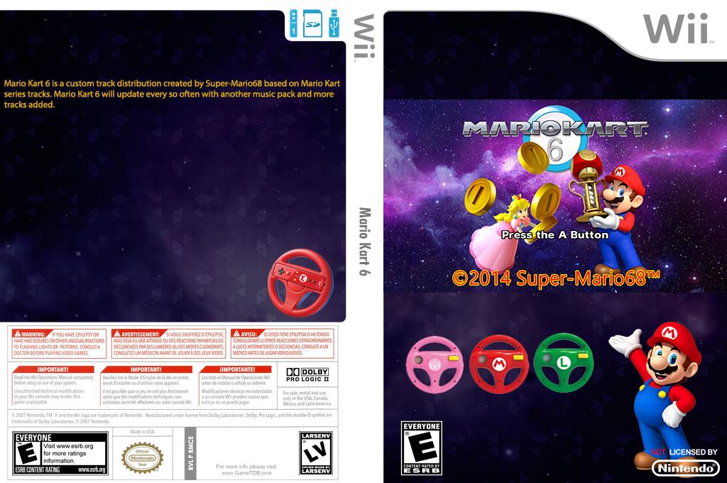 Mario Kart 6 Wii coverfullHQ (RMCE96)