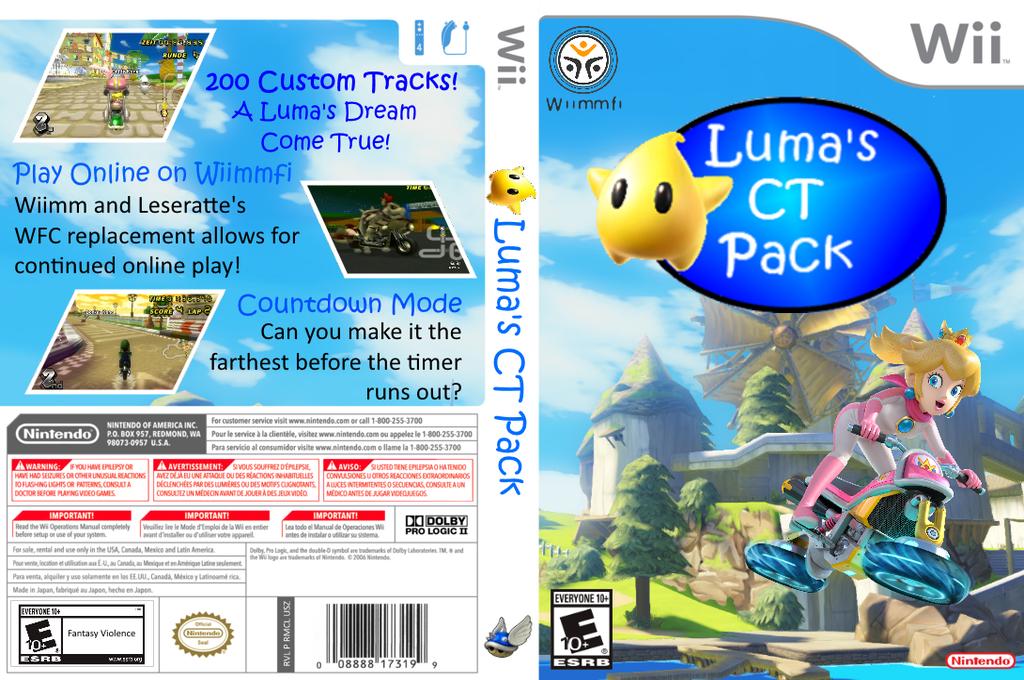 Luma's CT Pack Wii coverfullHQ (RMCEL1)