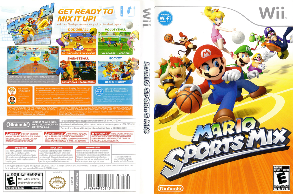 Mario Sports Mix Wii coverfullHQ (RMKE01)