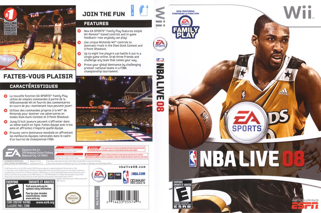 NBA Live 08 Wii coverfullHQ (RNBE69)