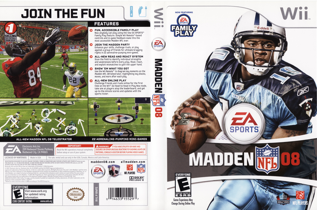 Madden NFL 08 Wii coverfullHQ (RNFE69)