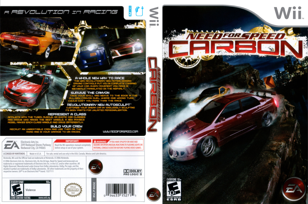 Need for Speed Carbon Wii coverfullHQ (RNSE69)