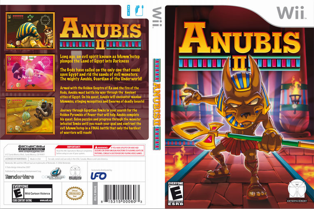Anubis II Wii coverfullHQ (RNVE5Z)