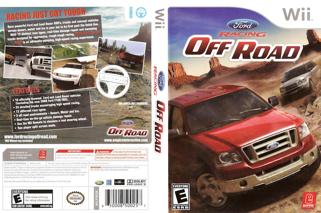 Ford Racing Off Road Wii coverfullHQ (RO2E7N)