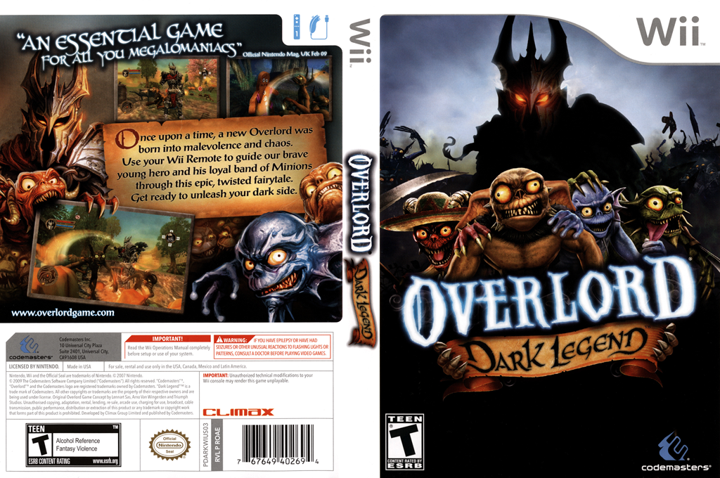Overlord: Dark Legend Array coverfullHQ (ROAE36)