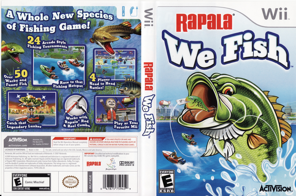 Rapala: We Fish Wii coverfullHQ (ROJE52)