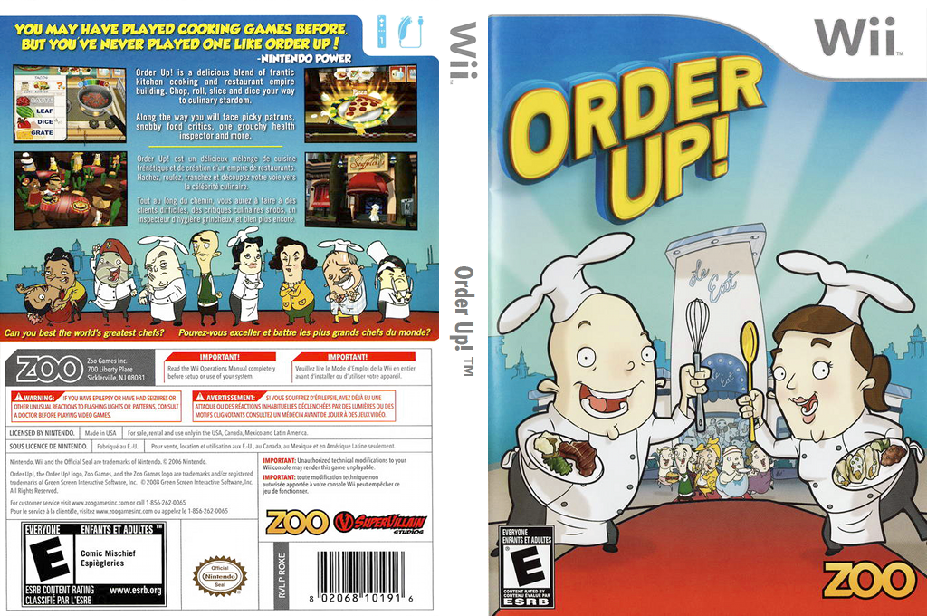 Order Up! Wii coverfullHQ (ROXE20)