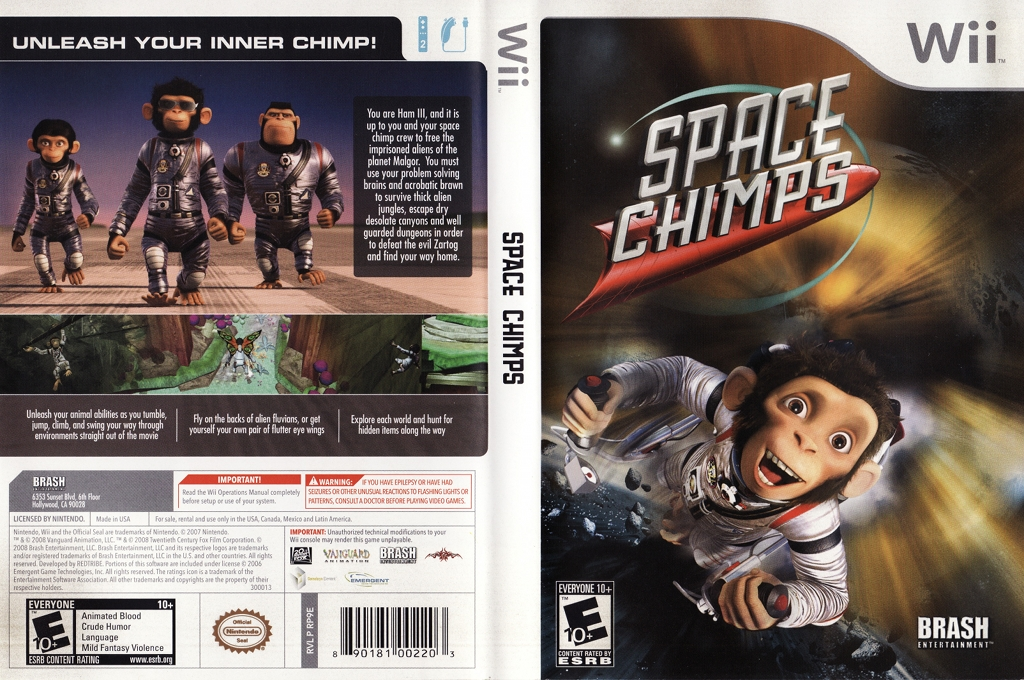 Space Chimps Wii coverfullHQ (RP9ERS)