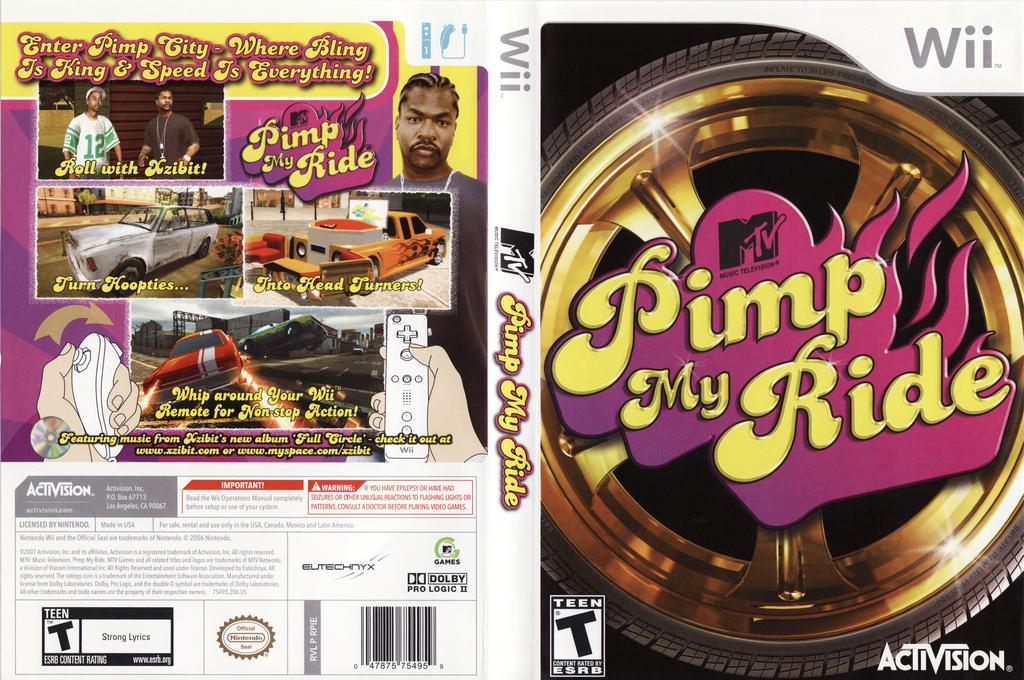 Pimp My Ride Wii coverfullHQ (RPIE52)
