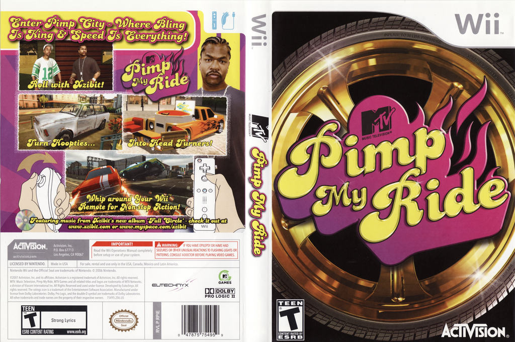 Pimp My Ride Array coverfullHQ (RPIE52)