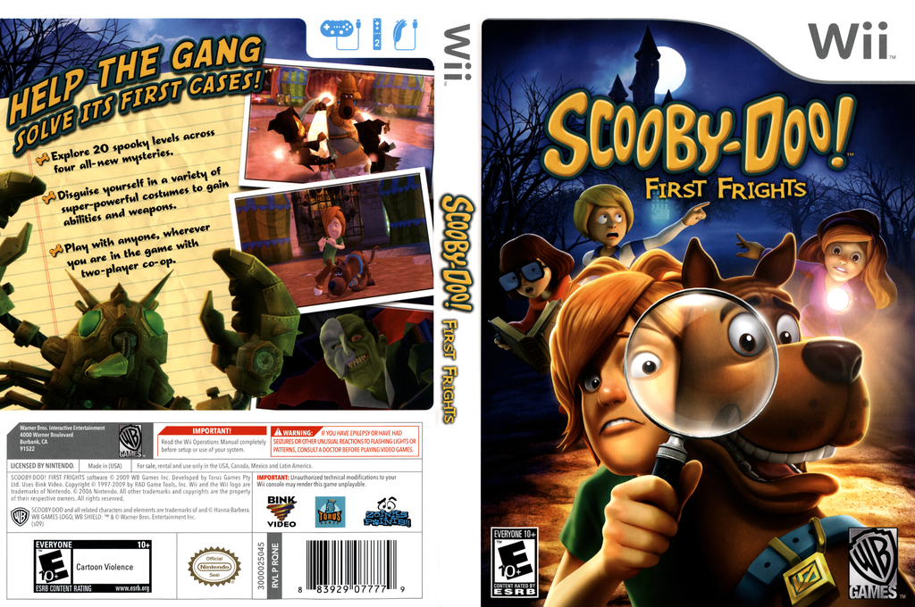 Scooby-Doo! First Frights Wii coverfullHQ (RQNEWR)