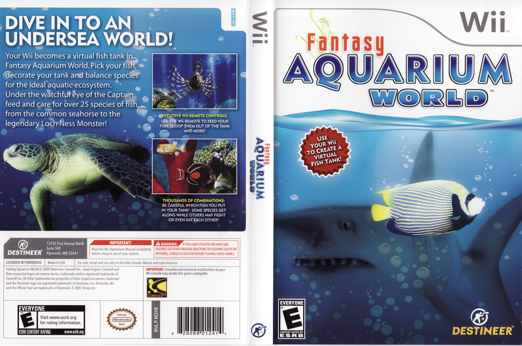 Fantasy Aquarium World Wii coverfullHQ (RQYENR)