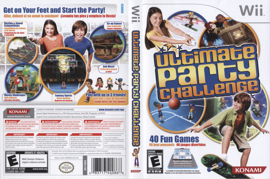 Ultimate Party Challenge Wii coverfullHQ (RR3EA4)
