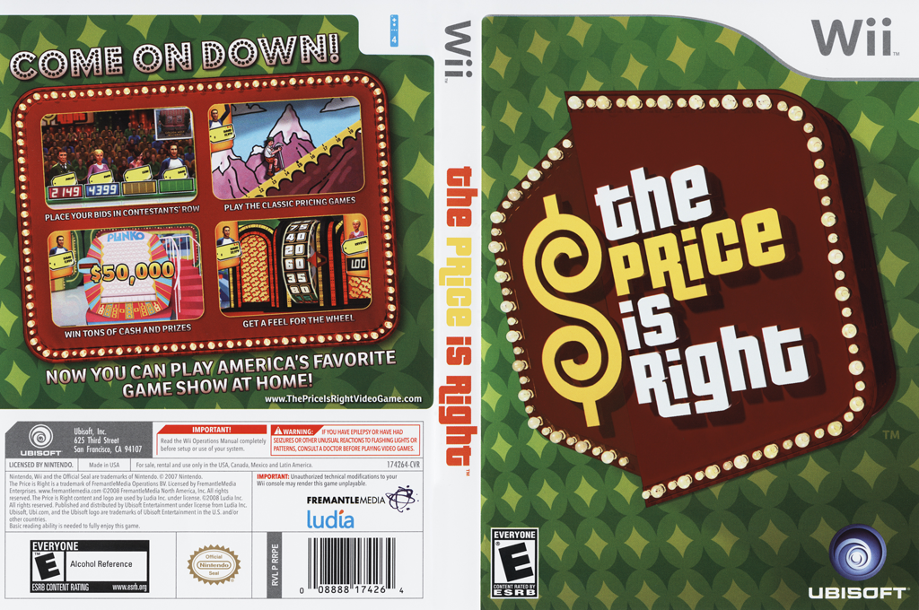 The Price Is Right Wii coverfullHQ (RRPE41)