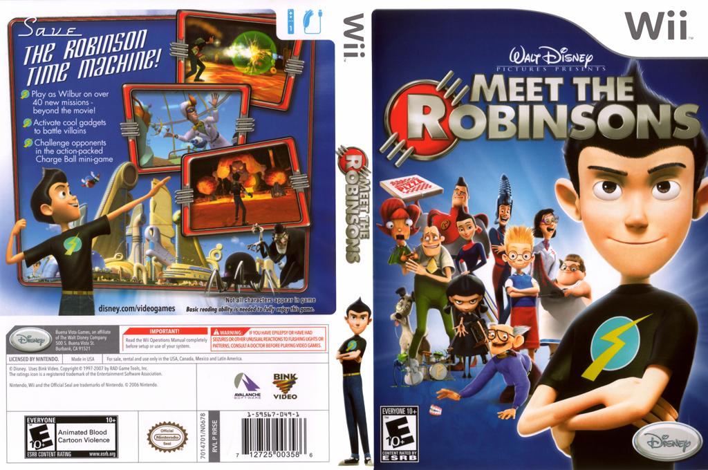 Meet the Robinsons Wii coverfullHQ (RRSE4Q)