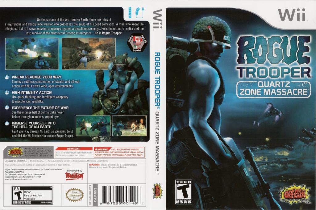 Rogue Trooper: Quartz Zone Massacre Array coverfullHQ (RRYEHG)