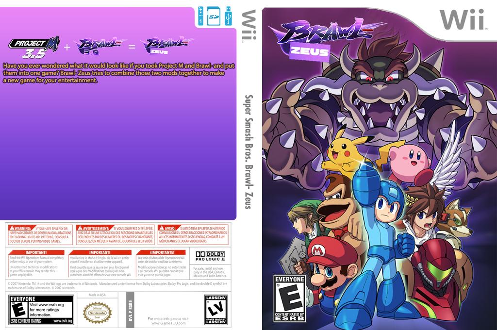 Super Smash Bros. Brawl- Zeus Wii coverfullHQ (RSBE14)