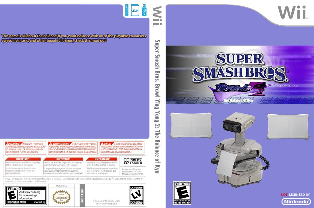 Super Smash Bros. Brawl Yin Yang Edition 2: The Balance of Kyu Wii coverfullHQ (RSBE33)
