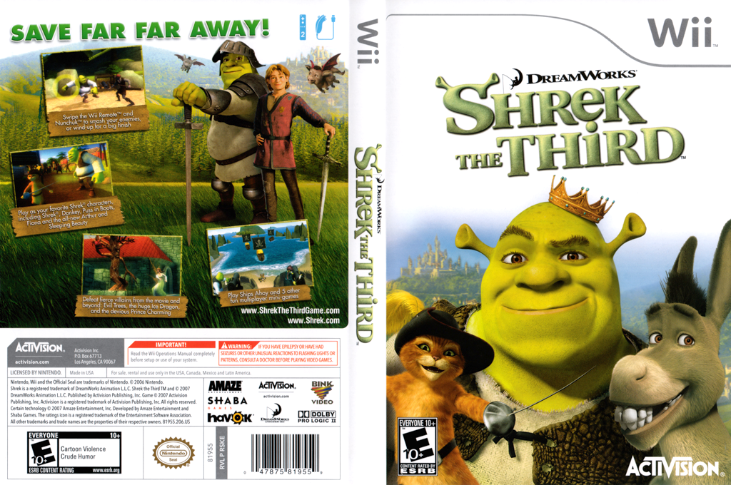 Shrek The Third Wii coverfullHQ (RSKE52)