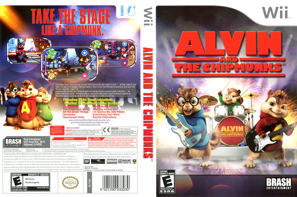 Alvin and the Chipmunks Wii coverfullHQ (RVBERS)