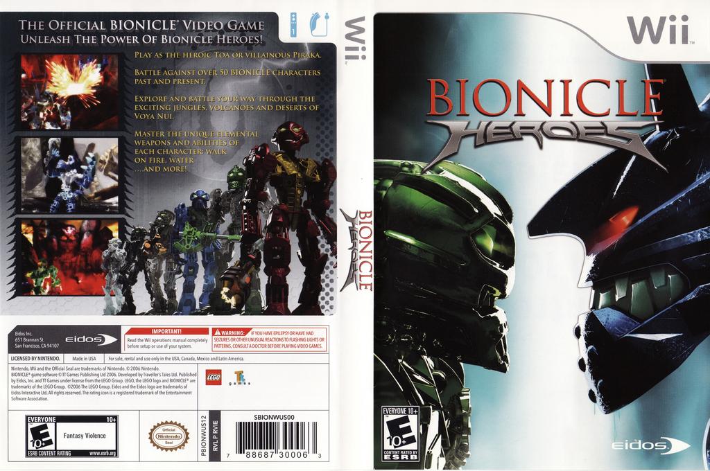 Bionicle Heroes Wii coverfullHQ (RVIE4F)
