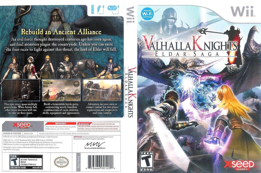 Valhalla Knights: Eldar Saga Wii coverfullHQ (RVKEXJ)