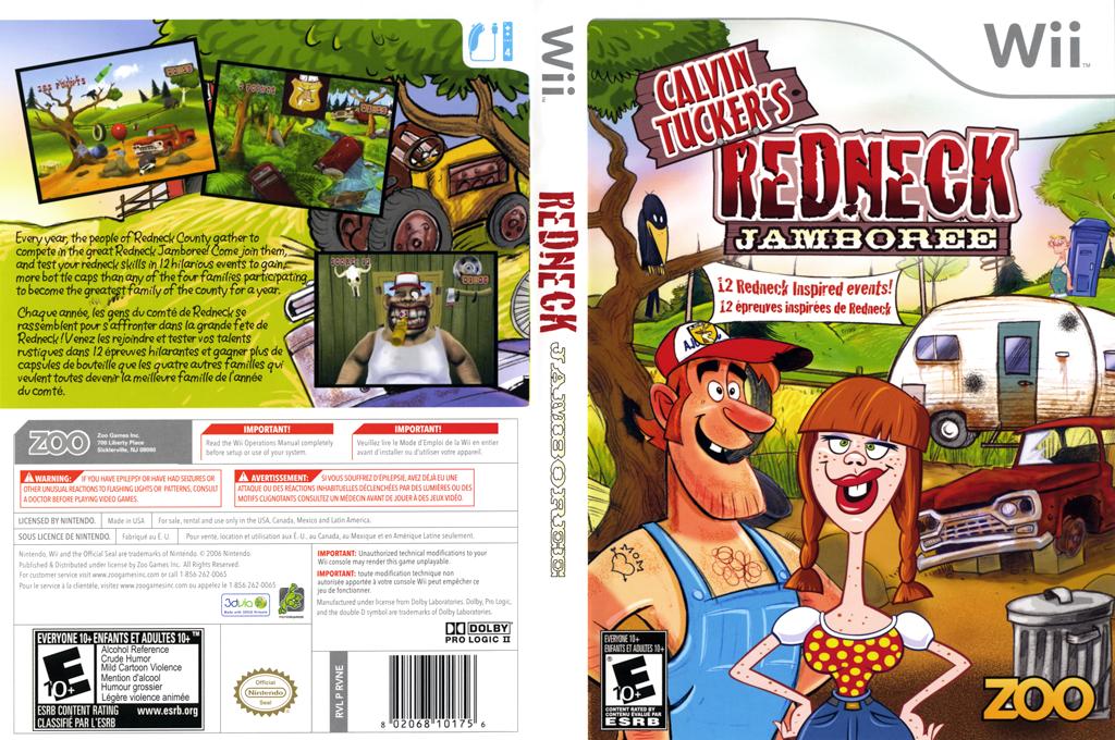 Calvin Tucker's Redneck Jamboree Wii coverfullHQ (RVNE20)