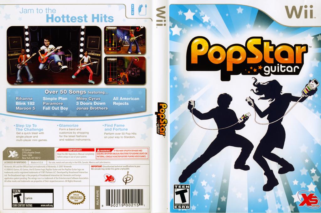 PopStar Guitar Wii coverfullHQ (RVPEFS)