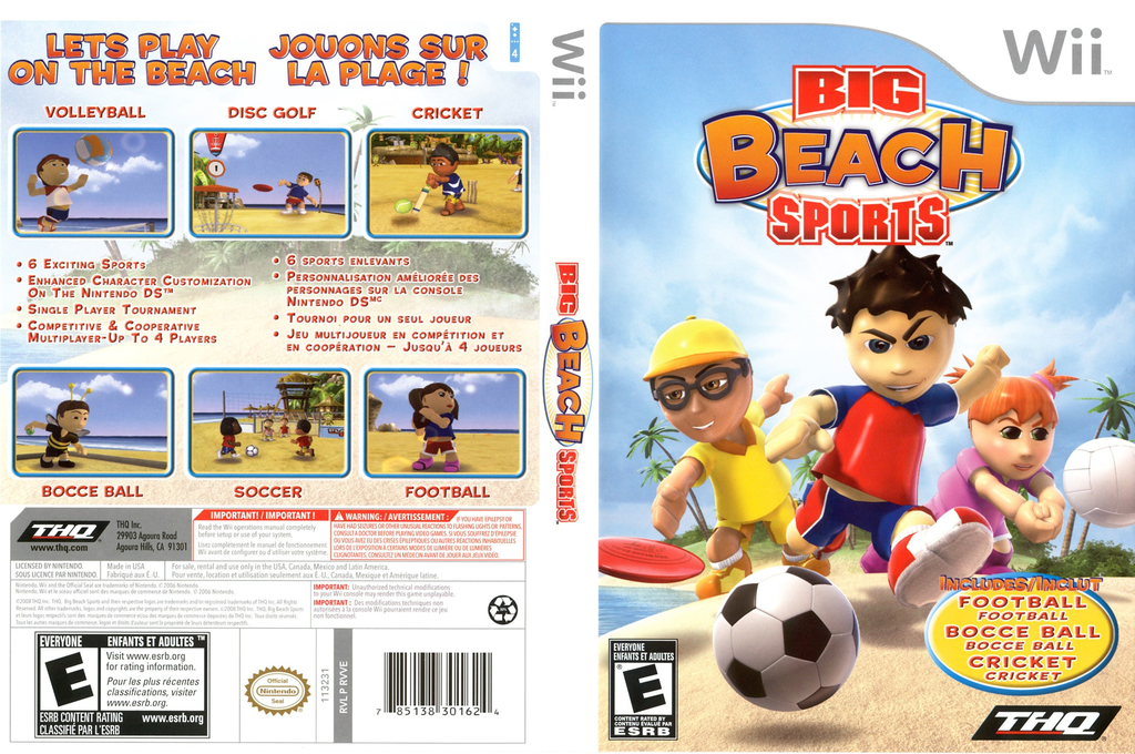 Big Beach Sports Wii coverfullHQ (RVVE78)