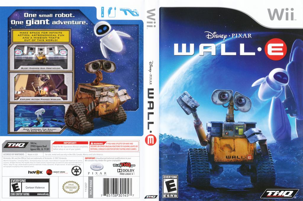 WALL•E Wii coverfullHQ (RWAE78)