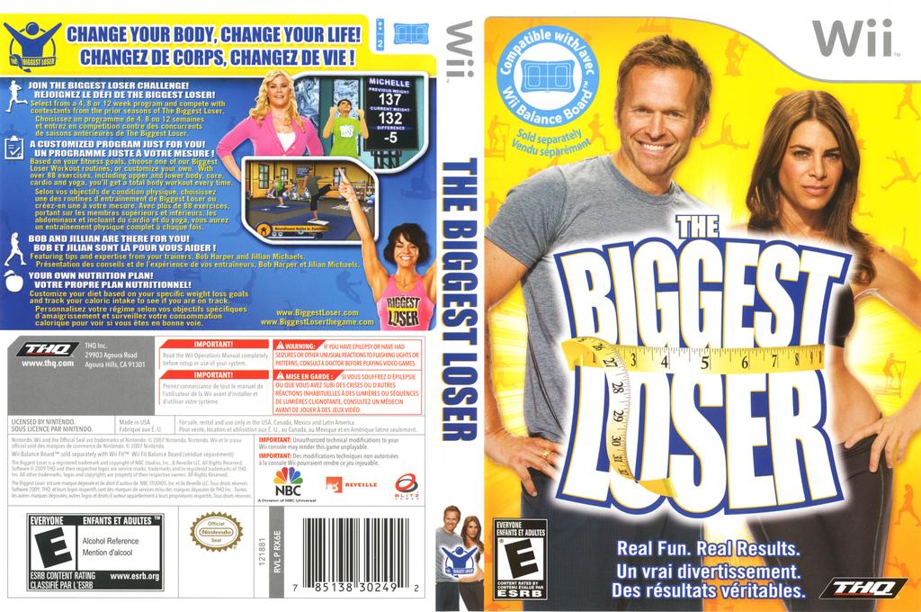 The Biggest Loser Wii coverfullHQ (RX6E78)