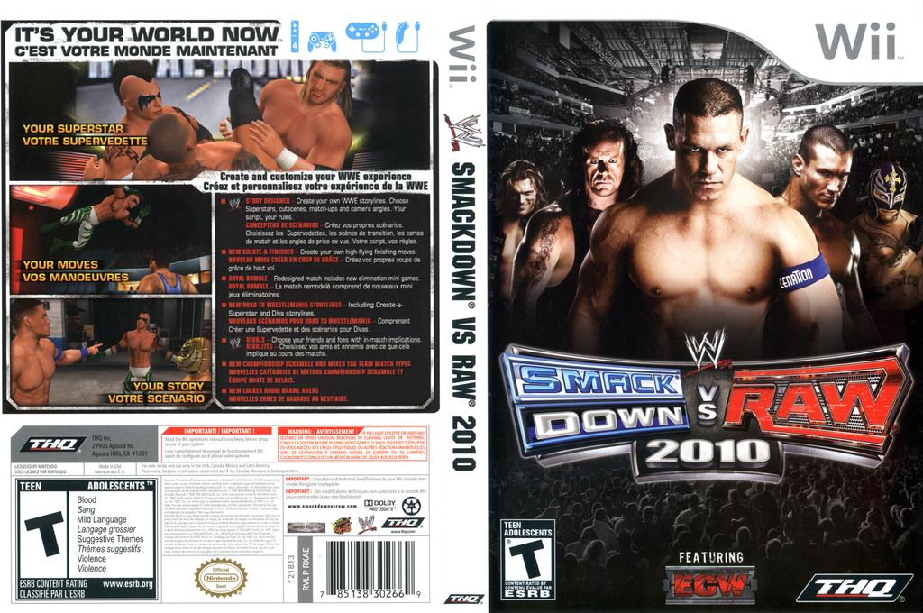 WWE SmackDown vs. Raw 2010 Array coverfullHQ (RXAE78)