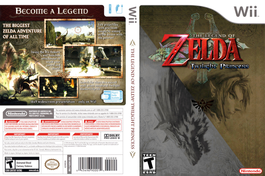 The Legend of Zelda: Twilight Princess Array coverfullHQ (RZDE01)