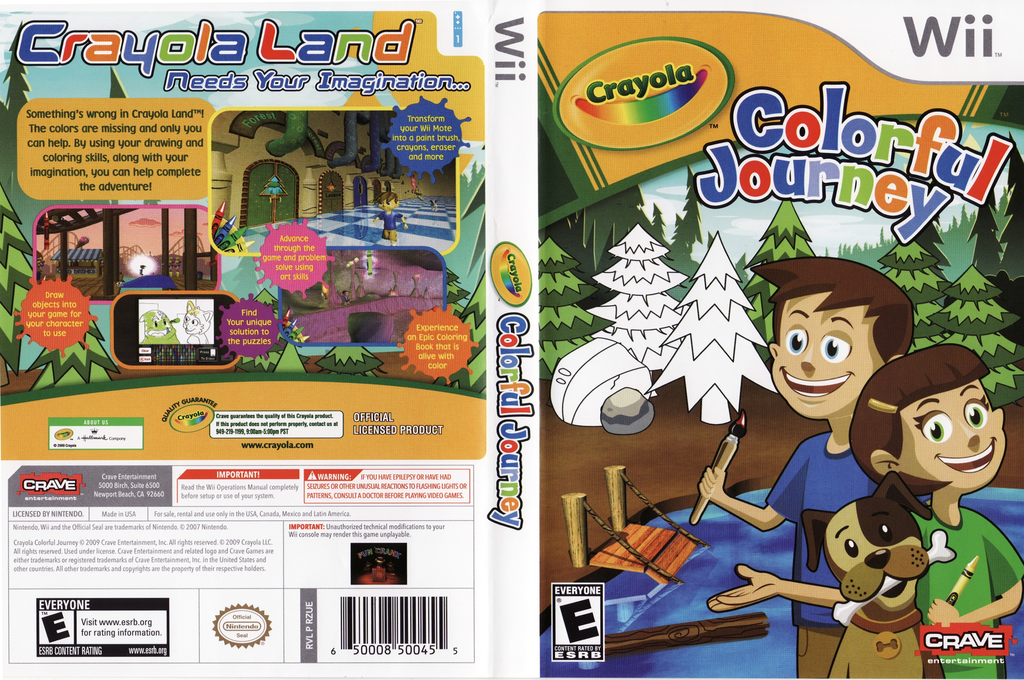 Crayola Colorful Journey Wii coverfullHQ (RZUE4Z)