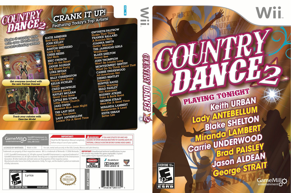 Country Dance 2 Wii coverfullHQ (S2BEPZ)