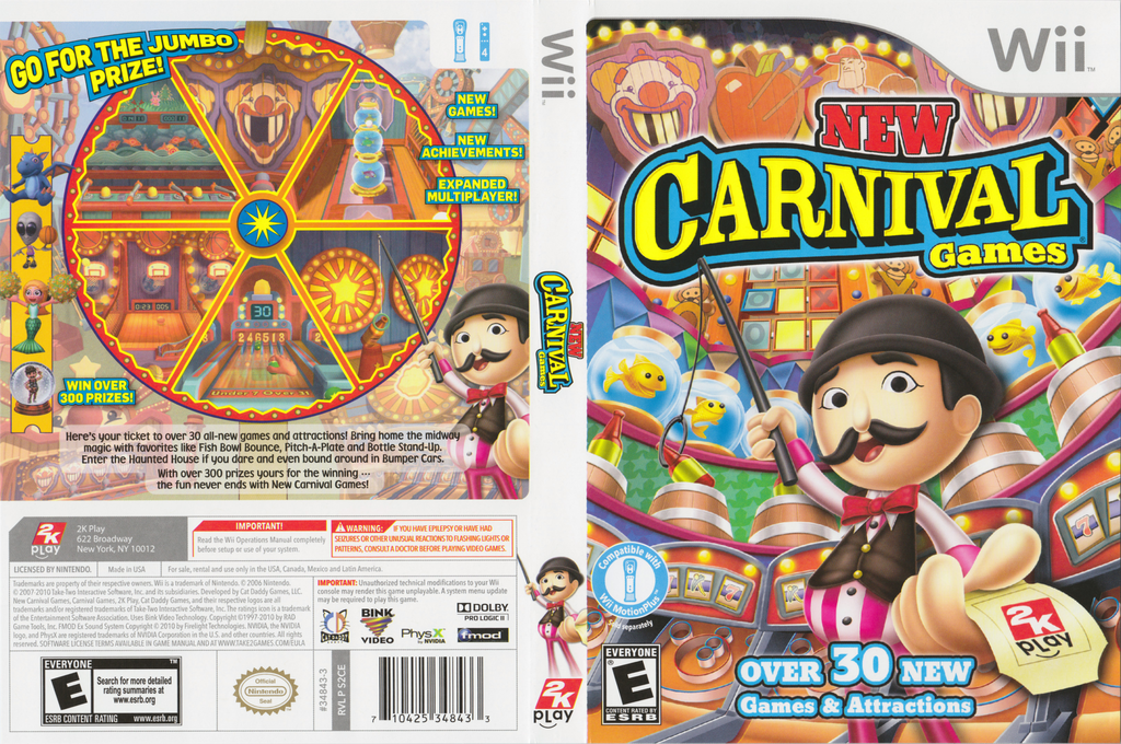New Carnival Games Array coverfullHQ (S2CE54)