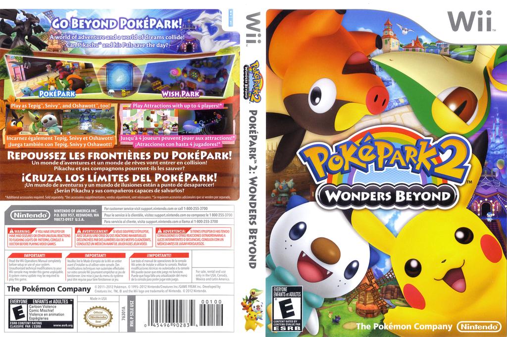 PokéPark 2: Wonders Beyond Wii coverfullHQ (S2LE01)