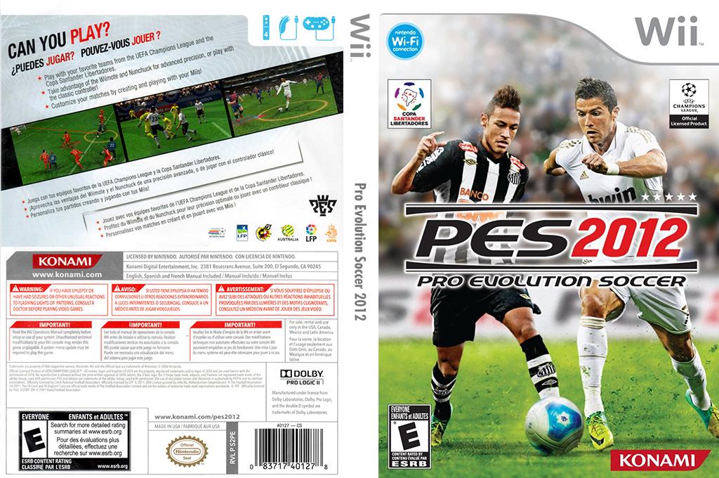 Pro Evolution Soccer 2012 Array coverfullHQ (S2PEA4)