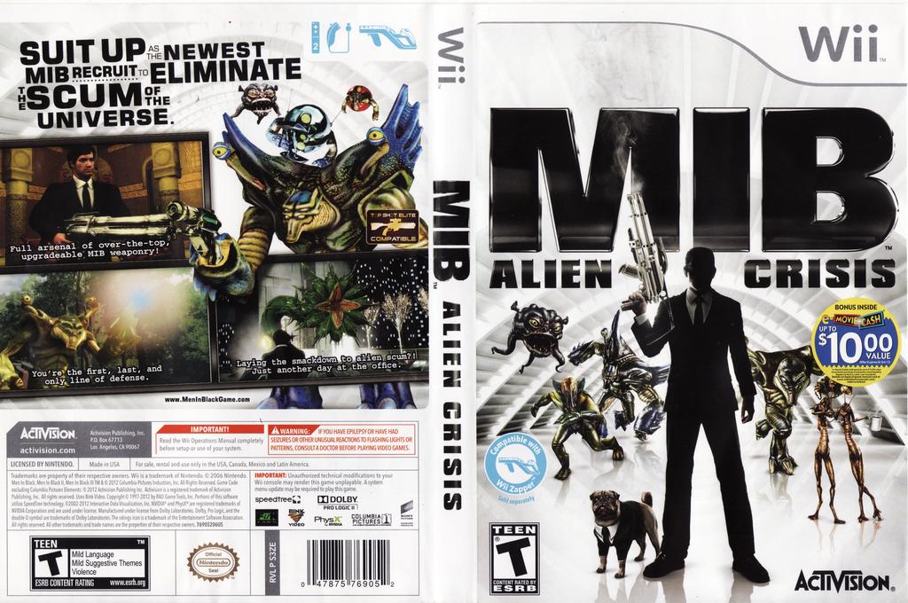 Men In Black: Alien Crisis Array coverfullHQ (S3ZE52)
