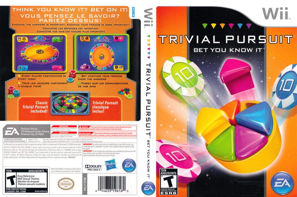 Trivial Pursuit: Bet You Know It Wii coverfullHQ (S7BE69)